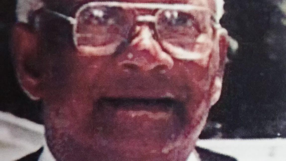 """Rev. Eugene """"G.G."""" Brown     April 10, 1925 – February 24, 2017"""